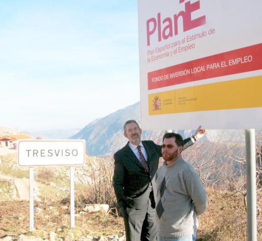 Tresviso, el primer ayuntamiento que va a acometer una obra del Fondo de Inversión Local