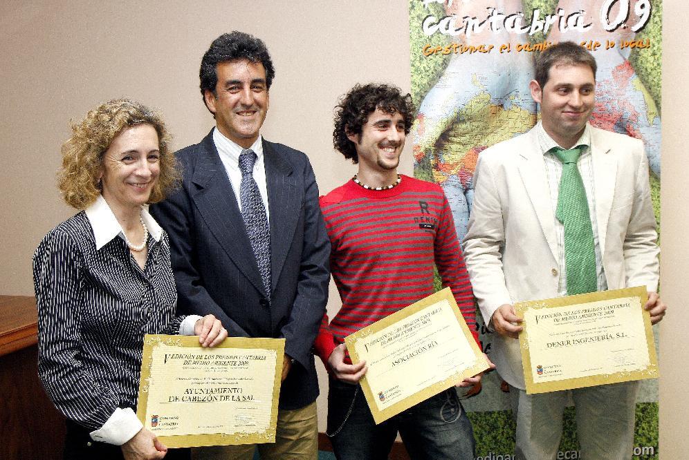 Premios Cantabria de Medio Ambiente, y premios Atila Cantabria 2009
