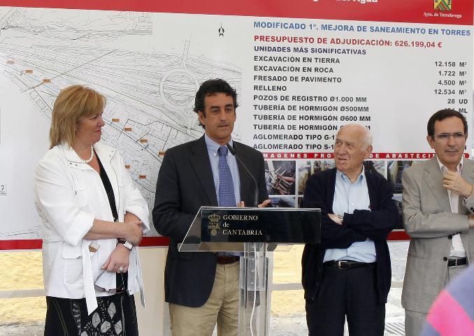 Medio Ambiente invierte más de 600.000 euros para actuaciones en tres calles de Torrelavega