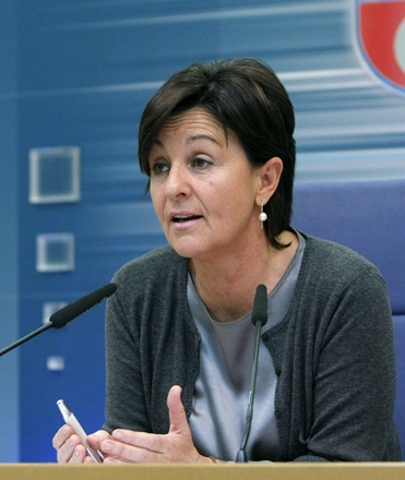 Dolores Gorostiaga, en fotografía de Lara Revilla / Gobierno de Cantabria