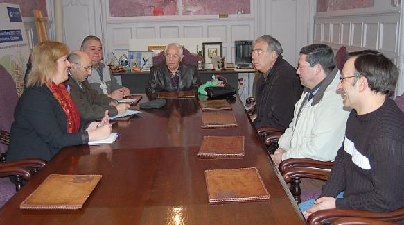Reunión de la alcaldesa y la asociación de vecinos
