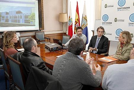 El alcalde presentó el proyecto de guardería