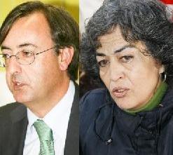 Pedro García Carmona (PRC) y Esther García (ACPT)