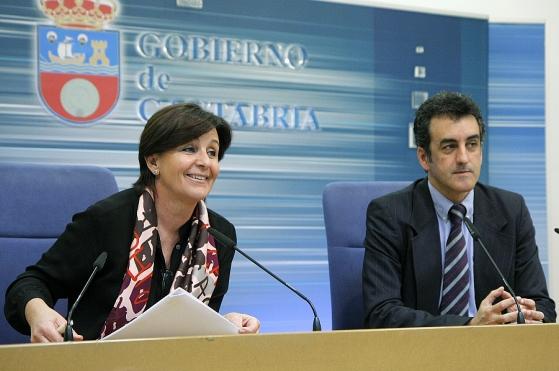 Gorostiaga y Martín / Foto: Lara Revilla (Gobierno de Cantabria)
