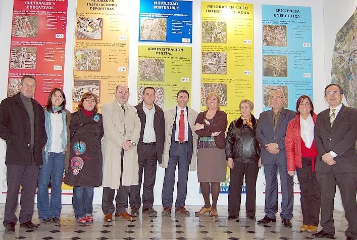 Foto de grupo de la visita