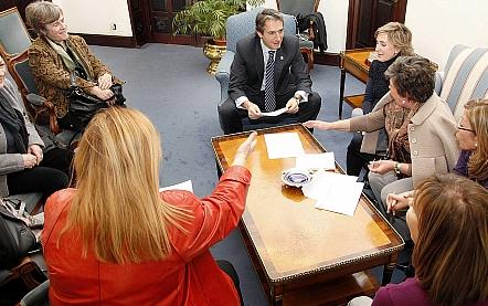 Reunión con el alcalde de Santander