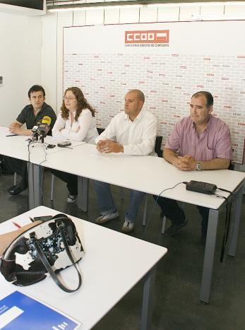 CC OO denuncia la situación de estos trabajadores