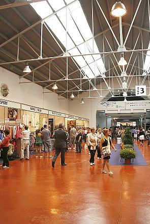 Imagen de una edición de la Feria del Stock, en La Lechera
