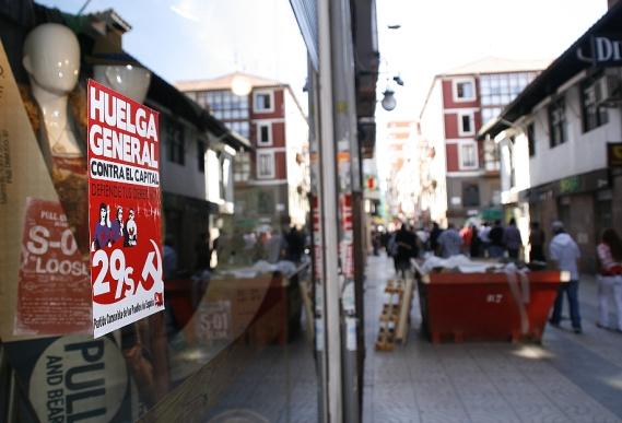 La huelga transcurrió en Cantabria con escasos incidentes