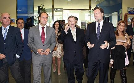 Rajoy, impresionado con la labor de Coorcopar