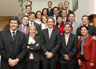 El alcalde se reúne con los participantes en el V Encuentro de Jóvenes Políticos Iberoamericanos