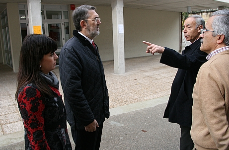Ibáñez visita las obras del Plan E en Puente Viesgo