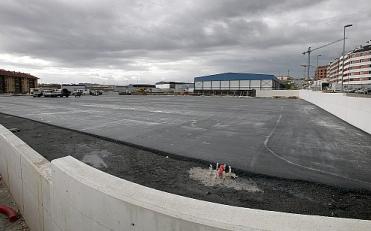 Las obras del campo de fútbol de Peñacastillo estarán finalizadas en primavera de 2011
