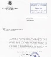 La Fiscalía abre diligencias por el caso CES