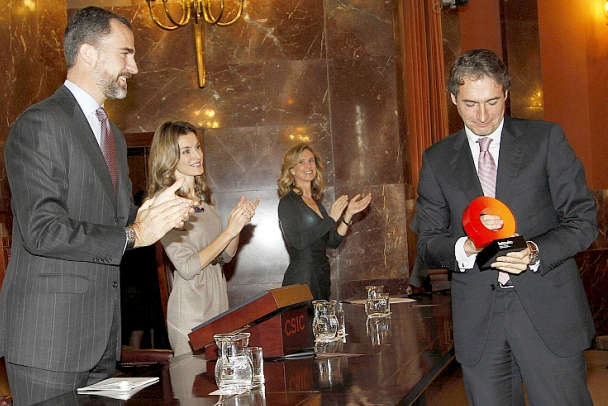 El alcalde recoge el premio Ciudad de la Ciencia y la Innovación para Santander