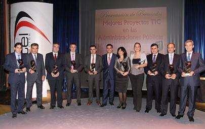 Industria recibe el premio de la Fundación DINTEL  al mejor proyecto TIC de una Comunidad Autónoma