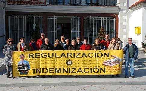 Miembros de la Asociación AMA en una concentración reciente