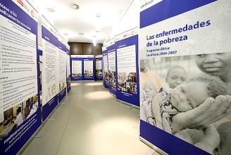 Exposición sobre las enfermedades de la pobreza