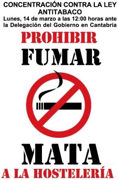Sigue la polémica por la prohibición de fumar en establecimientos hosteleros