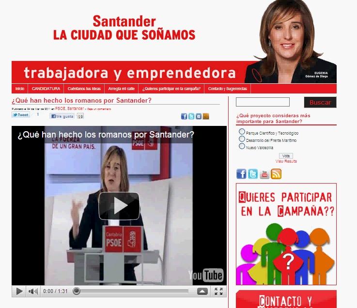 El vídeo '¿Qué han hecho los romanos por Santander?' incluye contenidos protegidos por derechos de autor