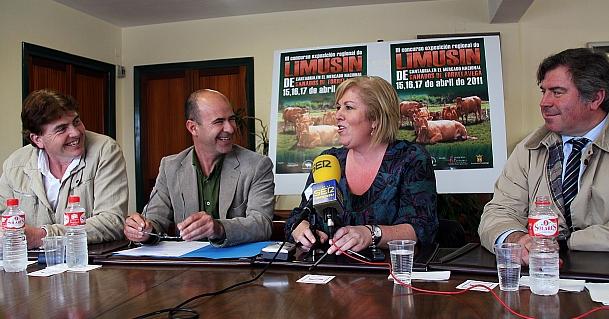 100 animales de 22 ganaderías participarán en el tercer concurso regional de ganado Limusín