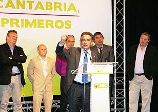 Revilla reitera que el AVE llegará a Santander en 2015