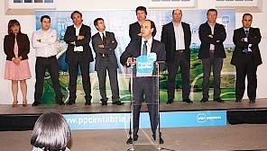 Diego pide 'un tirón' que lleve al PP a la mayoría absoluta