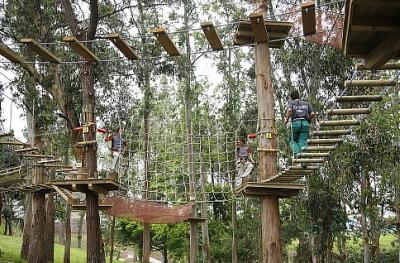 """El ecoparque """"Forestal Park"""" recibe cerca de 80.000 visitas"""