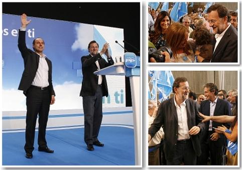 Mariano Rajoy visitó Santander el sábado