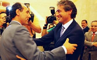 Ignacio Diego (izquierda) e Íñigo de la Serna (derecha)/Foto: PP