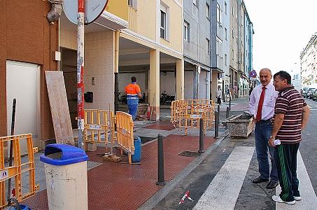 Finaliza la pavimentación del pasadizo en las calles Navarra y Simancas
