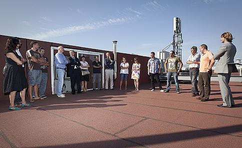 Trabajadores de Nueva Papelera de Besaya visitan una de las empresas previstas en el plan de recolocaciones / Foto: Raúl Lucio / Gob. Cantabria