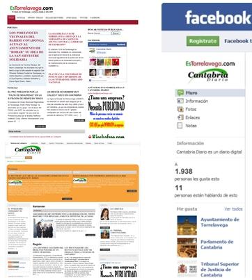 'Cantabria Diario' y 'EsTorrelavega' siguen creciendo en 2011, gracias a ustedes