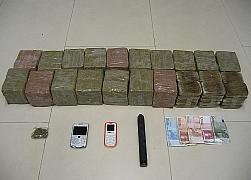 Detenidos con veinte kilos de hachís