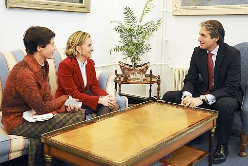 La nueva presidenta de CEOE-CEPYME se reúne con el alcalde de Santander