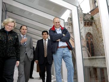 El ministro de infraestructuras de la Provincia de Buenos Aires visita las instalaciones de la Fundación Comillas / Foto: Lara Revilla-Gob. Cantabria