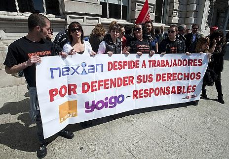 CC OO sigue exigiendo a Nexian la readmisión de los trabajadores despedidos por formar una candidatura sindical