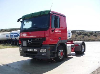 Este es el primer camión que usa este carburante