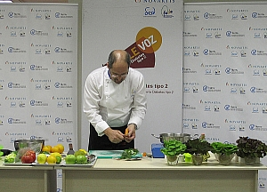 Valdecilla acoge un taller de cocina y nutrición especializado en diabetes tipo 2