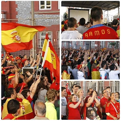 España gana la Eurocopa goleando a Italia
