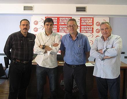 Los sindicatos anuncian movilizaciones en la seguridad privada