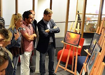 Prorrogada hasta el 31 de julio la exposición de Pablo Hernández Celorio en el Espacio Joven