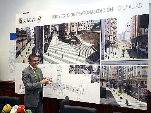La peatonalización de la calle Lealtad cuenta con un presupuesto de casi dos millones de euros