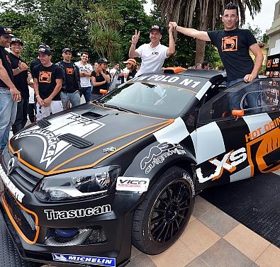 El piloto Eugenio Mantecón tuvo un sobresaliente estreno con su nuevo equipo y su nuevo vehículo