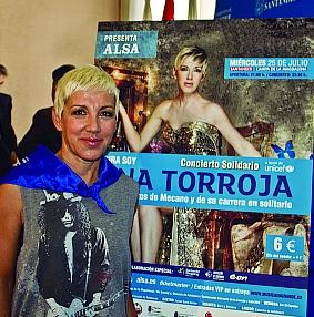 Vendidas más de 10.000 entradas del concierto solidario de Ana Torroja