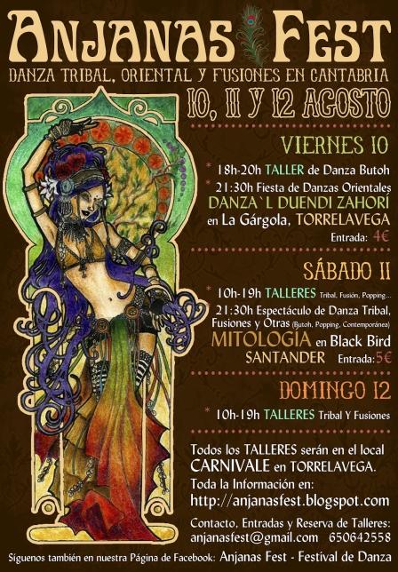 Cantabria acogerá el I Festival de Danza Tribal y Fusión