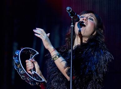Amaral cierra Amstel Música en Grande, que ha contado con 72.000 participantes en total