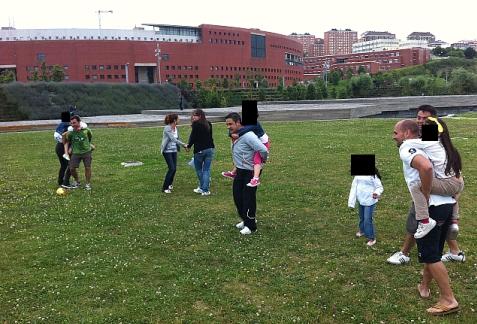 Organizada una nueva sesión de juegos en familia en Las Llamas