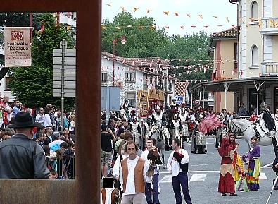 Medio Cudeyo acogió un festival de la Edad Media