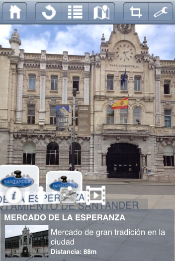 Ya está disponible la aplicación de realidad aumentada 'SmartSantanderRA'
